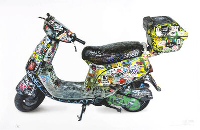 Invader, 'Scooter', 2015