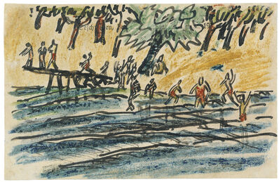 Erich Heckel, 'Am See', 1915