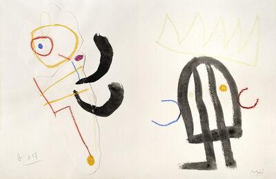 Joan Miró, 'Ubu Roi', 1953 cira