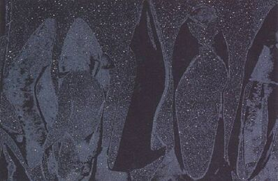 Andy Warhol, 'Diamond Dusted Shoes (Grey) ', 1980