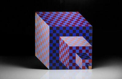 Victor Vasarely, 'Felhoe', 1989