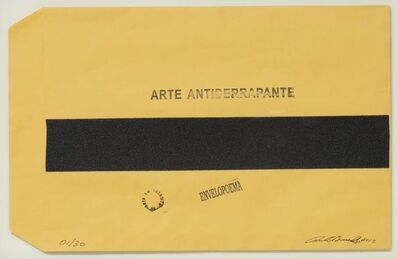 Paulo Bruscky, 'ARTE ANTIDERRAPANTE', 2005