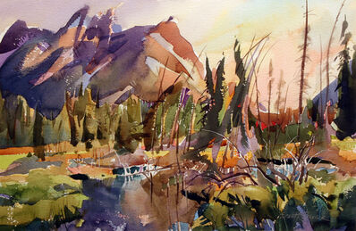 Brent Laycock, 'Wetlands at Mount Lorette'