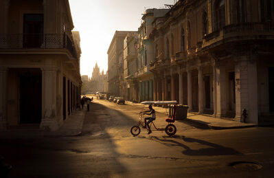 Xiao Ge 萧戈, '哈瓦那的早晨 A morning in Havana', 2015