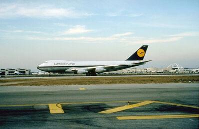 Peter Fischli & David Weiss, 'Lufthansa Cargo, L. A.', 1988