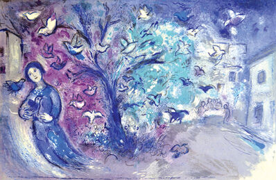 Marc Chagall, 'The Bird Chase (Daphnis and Chloe Suite)', 1961