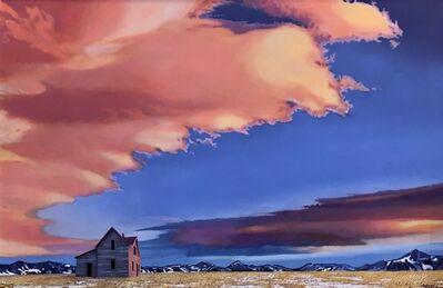 BRUCE CASCIA, 'Fire in the Sky', 2020