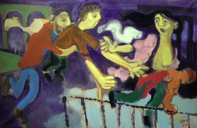 Houssam Ballan, 'Rest On the Flight Into the West', 2021
