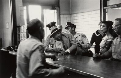 Charles Moore, 'Martin Luther King Arrest, Montgomery, Alabama', 1958
