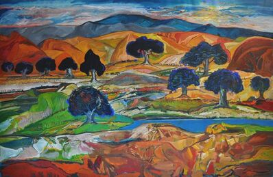 Yehouda Chaki, 'Blue River 1424', 2014