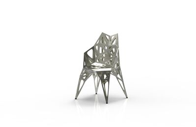 Zhoujie Zhang, 'MC011-F-Matt (Endless Form Chair Series)', 2018