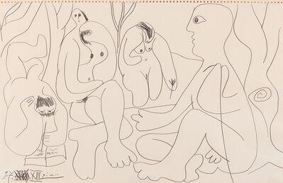 Pablo Picasso, 'Le Dejeuner sur l'herbe', 1961