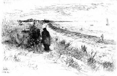 Otto Henry Bacher, 'The Lido, Venice', 1880