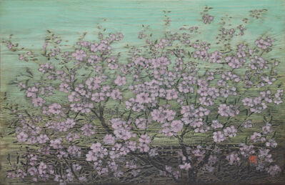 Kim Duck Yong, 'Red Blossom', 2016