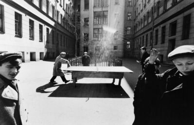 William Klein, 'Ping Pong, Moscow', ca. 1955