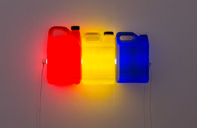 Bill Culbert, 'Red Yellow Blue', 2015
