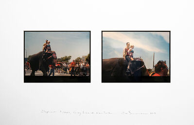 Eve Sonneman, 'Elephant Riders, Coney Island, New York', 2013