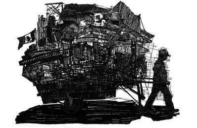 Luisa Estrada, 'Los escombros y la memoria', 2018
