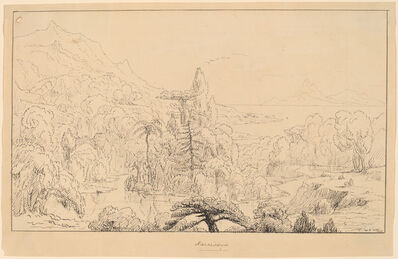 Thomas Cole, 'Narcissus [recto]', 1828
