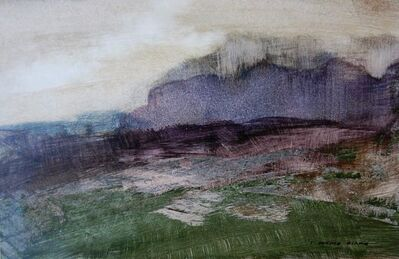 Donald Blake, 'Quiet evening on the mountain', ca. 1969