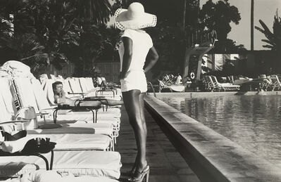 Anthony Friedkin, 'Woman by the Pool', 1975