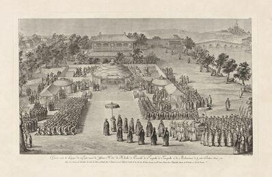 Isidore-Stanislaus-Henri Helman, 'L'Empereur re‡oit les hommages des peuples vaincus... (plate XVI)', 1783