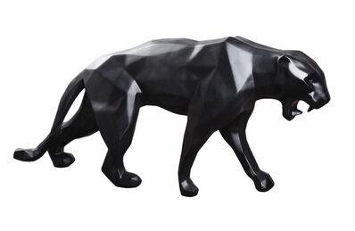 Richard Orlinski, 'Black Matt Panther', 2018