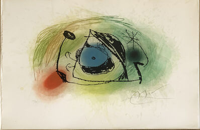 Joan Miró, 'La Musaraigne (The shrew)', 1978