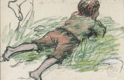 Claude Emile Schuffenecker, 'Le gosse étendu'