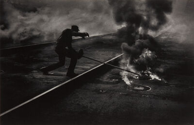 W. Eugene Smith, 'Dance of the Flaming Coke, Pittsburgh', 1955