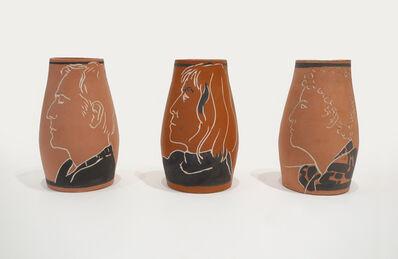 George Schneeman, 'Rene (Ricard), Susan Rothenberg, Untitled', 1980-1981