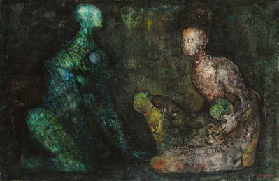 Leonor Fini, 'Colloque minerale', 1938