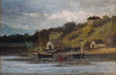 Edward Bannister, 'Harbor View', ca. 1890
