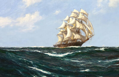 """Montague Dawson, 'The """"Red Jacket"""" on Open Seas'"""