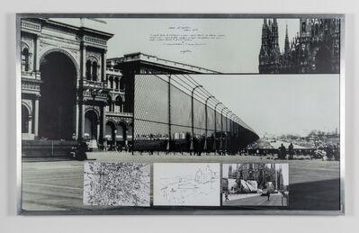 Ugo La Pietra, 'Verso il centro', 1972