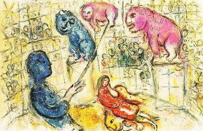 Marc Chagall, 'Le Cirque M. 506', 1967