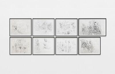 Paul McCarthy, 'SC, Coach, Dogs Attack, Saloon (18 x 24)', 2013