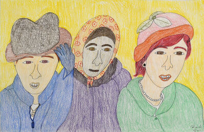 Shuvinai Ashoona, 'Untitled (#148-2337', 2020