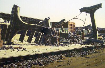 James Torlakson, 'Southern Pacific Ruins II', 1980
