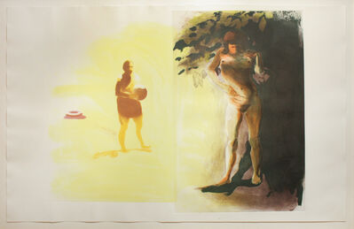 Eric Fischl, 'UNTITLED (Innertube) from FOUR PRINTS', 1989
