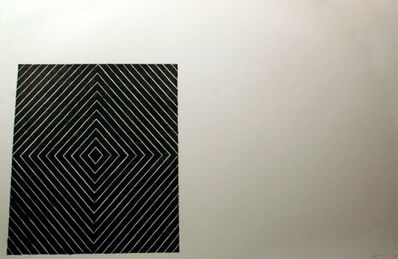 Frank Stella, 'Black Square', 1967