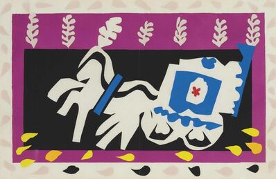 Henri Matisse, 'L'Enterrement de Pierrot, from Jazz', 1947