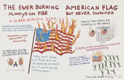 Chris Burden, 'The Ever Burning American Flag', 2009