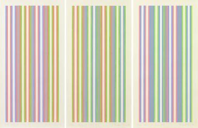 Bridget Riley, 'Colour Studies for Entice No.1, No.2, No.3', 1974
