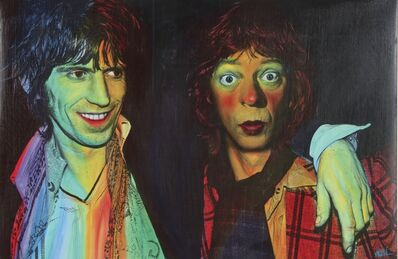 Ron English, 'The Glimmer Twins', 2019
