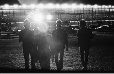 Harry Benson, 'Beatles at the Boston Race Track', 1964