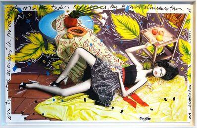 """Efren Isaza, '""""Colored Frida"""" intervened photographs  mounted on aluminum, ', 2010"""