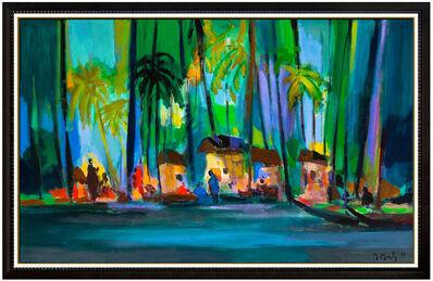 Marcel Mouly, 'Village Talmont Sur La Lagune', 2003