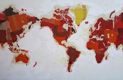 Fernando Alday, 'Religious Map', 2017