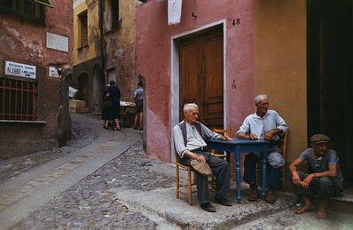 Slim Aarons, 'Portofino Cafe', ca. 1970
